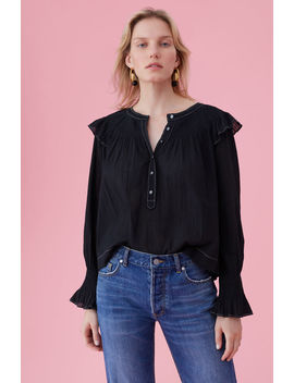 La Vie Washed Gauze Top by Rebecca Taylor