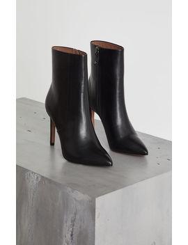 Ava Leather Stiletto Bootie by Bcbgmaxazria