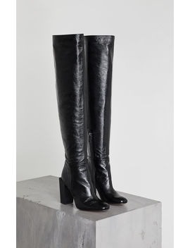 Liviana Leather Boot by Bcbgmaxazria