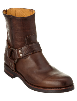 Frye Men's Clinton Harness Backzip Leather Boot by Frye