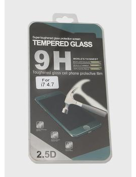 I Phone 7 Tempered Glass Screen Protector by Miss A