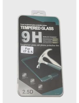 I Phone 7 Plus Tempered Glass Screen Protector by Miss A