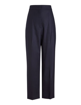 Haim Flannel Stretch Trousers by Joseph