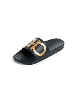 Groove 2 Slides by Salvatore Ferragamo