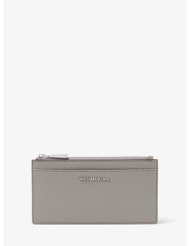 Large Leather Card Case by Michael Michael Kors