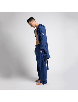Robe + Pants // Navy by Touch Of Modern