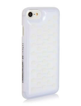 Happy Not Perfect Bubble Case by Skinnydip