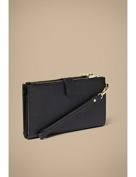 Della Saffiano Phone Wallet by Witchery
