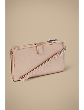 Della Textured Phone Wallet by Witchery