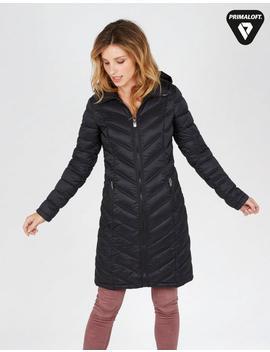 Louisa Longline Puffer Jacket by Fat Face