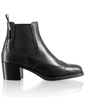 Block Heel Chelsea Boot by Cavendish