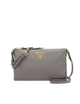 Calf Leather Bag by Prada