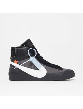 Wmns Off White X Blazer Mid (Instore Only) by Solebox