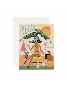 Relax Birthday by Rifle Paper Co.