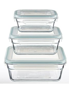 Glasslock Food Storage Container Set, 6 Pc by Canadian Tire