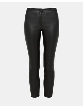 Leather Classic Skinny Pant by Theory
