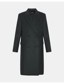 Double Breasted Coat by Theory