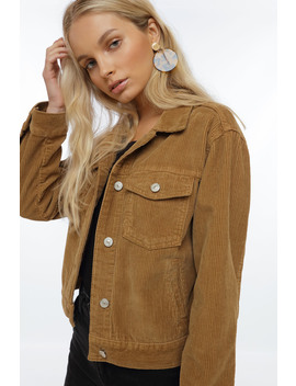 Corduroy Jacket by Chiquelle