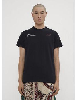 Paria Farzana X Lncc Collaboration T Shirt In Black by Paria Farzaneh