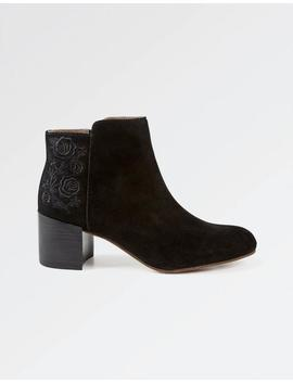 Elle Embroidered Ankle Boots by Fat Face