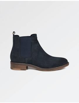 Newham Suede Chelsea Boots by Fat Face