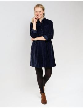 Lena Cord Shirt Dress by Fat Face