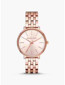 Pyper Rose Gold Tone Watch by Michael Kors