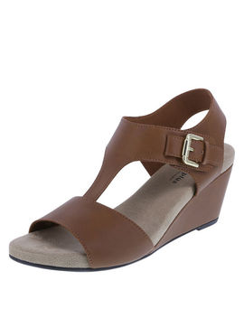 Women's Vanna Mid Wedge Sandal by Learn About The Brand Comfort Plus By Predictions