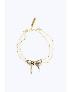 Twisted Bow Statement Bracelet by Marc Jacobs