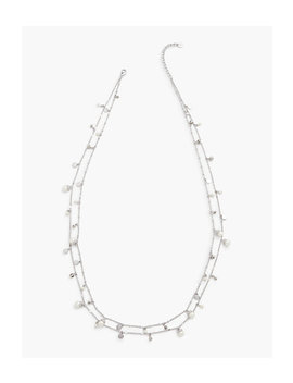 Delicate Mixed Beads Necklace by Talbots