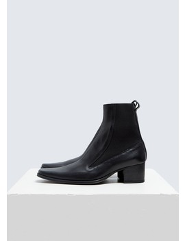 Elasticated Low Boot by Haider Ackermann