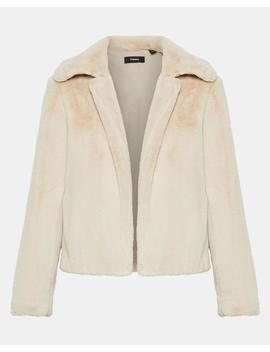 Faux Fur Luxe Jacket by Theory