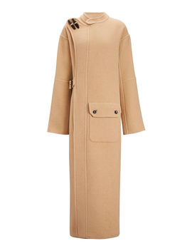 Booth Blown Wool Cashmere Coat by Joseph