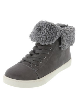 Women's Elliot Fur Lined Sneaker by Learn About The Brand Brash