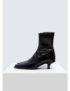 Kitten Heel Ankle Boot by Ann Demeulemeester