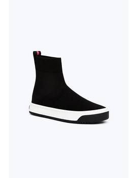 Solid Logo Dart Sock Sneaker by Marc Jacobs