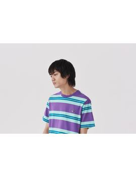 Lazy Oaf Stripey Eyes Short Sleeve T Shirt by Lazy Oaf