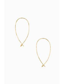 Hammered Wire Small Hoops by Stella&Dot