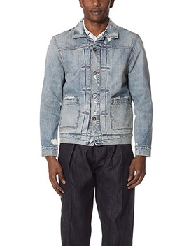 Trashed Jean Jacket by Levi's Made &Amp; Crafted