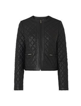 Karyn Black Leather Jacket by L.K.Bennett