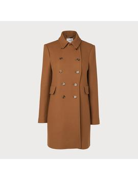 Fellis Camel Wool Mix Coat by L.K.Bennett