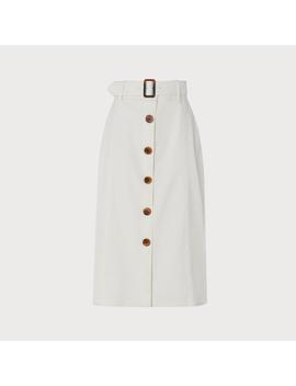 Oda Cream Skirt by L.K.Bennett