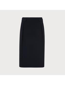 Carmel Navy Skirt by L.K.Bennett