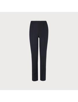 Cati Navy Pants by L.K.Bennett