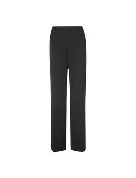 Delaux Black Wide Leg Pants by L.K.Bennett