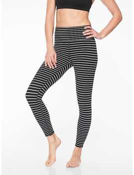 Elation Virasana Stripe 7/8 Tight by Athleta