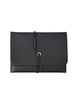 dwellstudio-medium-wrap-pouch,-black-(51136) by dwell-studios