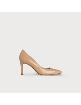 Floret Nude Patent Leather Heels by L.K.Bennett