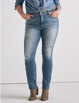 Plus Emma Straight Jean by Lucky Brand
