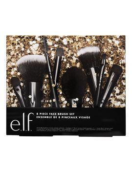 8 Piece Face Brush Set by Eyes Lips Face Cosmetics